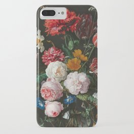 Still Life with Flowers by Jan Davidsz. de Heem iPhone Case