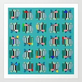Fabric Candy. Art Print