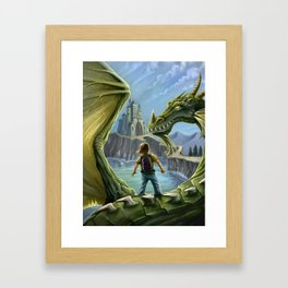 Fantasy Dragon Framed Art Print
