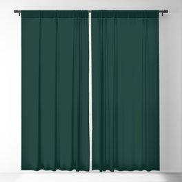 Dark Emerald Green Blackout Curtain