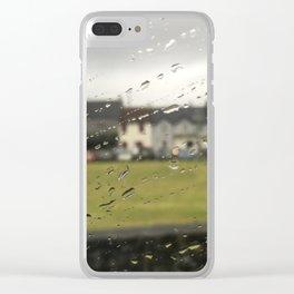 Ireland Rain Clear iPhone Case
