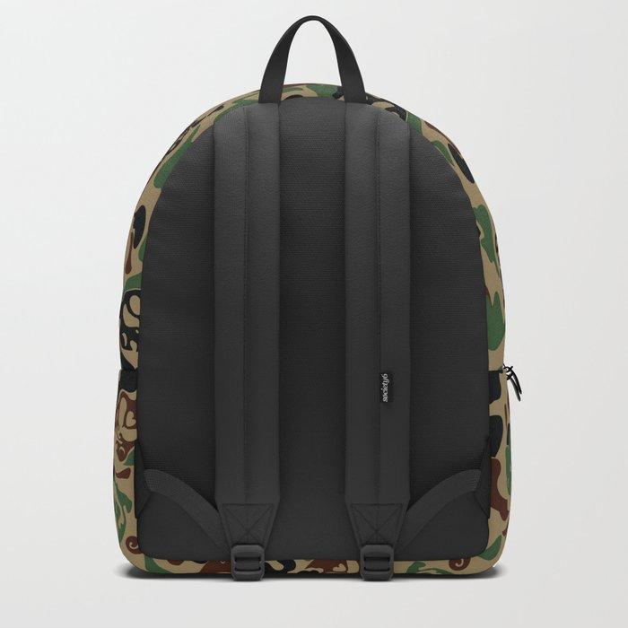 Pug Camouflage Backpack