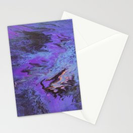 Sweetness 0009- Iridescent Fluid Painting Stationery Cards