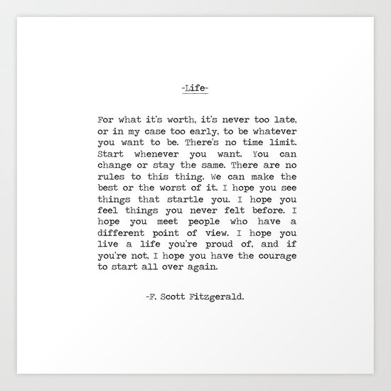 Best F Scott Fitzgerald Quotes - Best lines from Fitzgerald