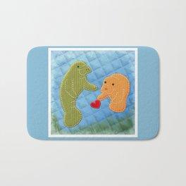 Manatee Love Bath Mat