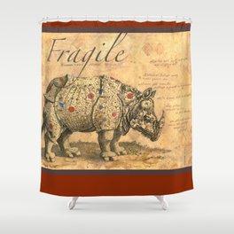 Fragile Shower Curtain