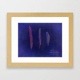 Ornithology Print-Blue Jay Framed Art Print
