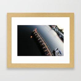 deerfield beach, fl Framed Art Print
