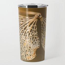 Lace hydrangea Travel Mug
