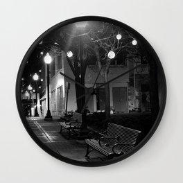 Royal Oak Winter Wall Clock