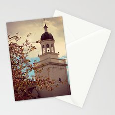 Tower in Autumn Stationery Cards