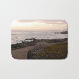 On the right path - Wildflowers bloom for those in love Bath Mat