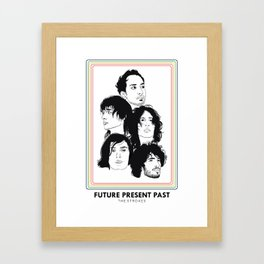 The Strokes: Future Present Past Framed Art Print