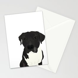 Atticus the Pit Bull Stationery Cards