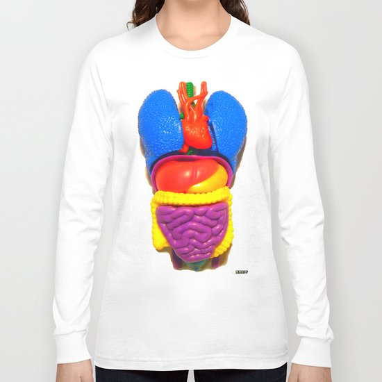 """PLASTIC ANATOMY"" ...shirt/ iphone case Long Sleeve T-shirt"