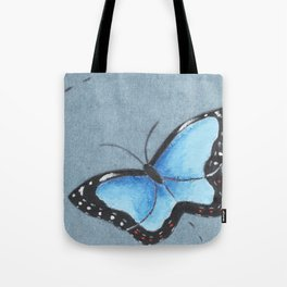 Sapphire Wings Tote Bag