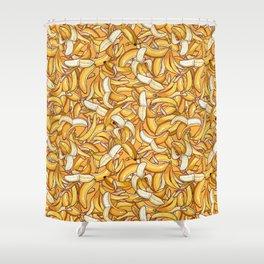 Yellow banana dream. Shower Curtain
