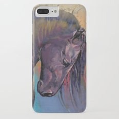Friesian Horse Slim Case iPhone 7 Plus