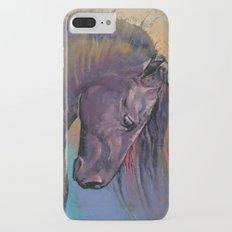 Friesian Horse iPhone 7 Plus Slim Case
