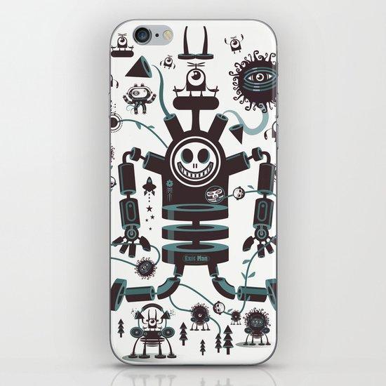 The Magic Garland iPhone & iPod Skin