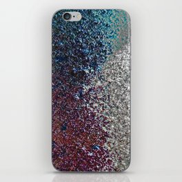 Colorful Dust in Sidelight iPhone Skin