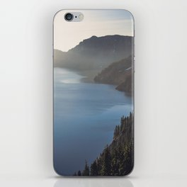 First Light at the Lake iPhone Skin