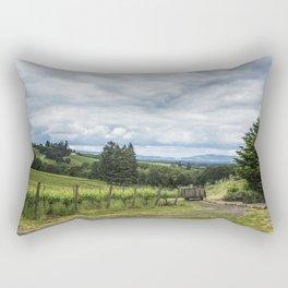 Growing Grapes Rectangular Pillow