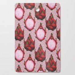 dragon fruit pattern Cutting Board