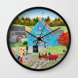Bountiful Harvest Wall Clock