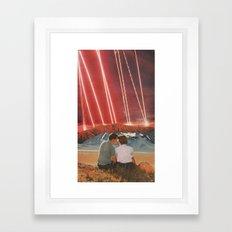 Lazers  Framed Art Print