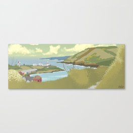 Roches Point Speedpainting Canvas Print