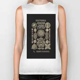"""""""Diatomea"""" from """"Art Forms of Nature"""" by Ernst Haeckel Biker Tank"""
