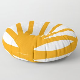Circle dissected Floor Pillow
