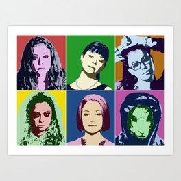 Clone Pop Art Print