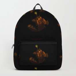 Deep Sea Anglerfish Watercolor Backpack