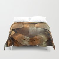 knight Duvet Covers featuring Knight by SlothgirlArt
