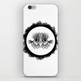Half Bird iPhone Skin
