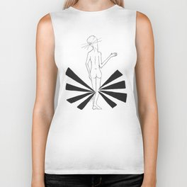 B.knees, oh please by riendo Biker Tank
