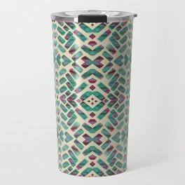 Bohemian Boho Ornament Pattern Travel Mug
