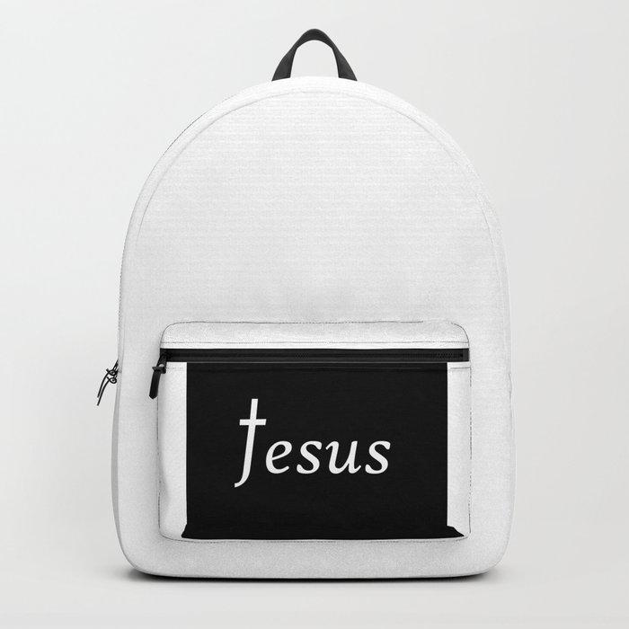 48c2f9f343ed Jesus Backpack by eloiseart