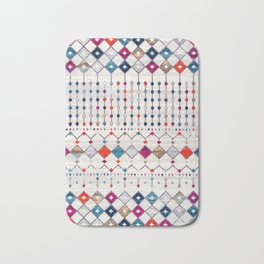 -A14- Lovely Colored Traditional Moroccan Texture Bath Mat