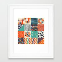 alisa burke Framed Art Prints featuring OUT OF AFRICA by Daisy Beatrice