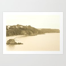 SunSea'nSand Art Print