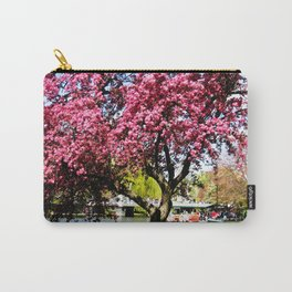 Pink Tree at the Boston Public Gardens Carry-All Pouch