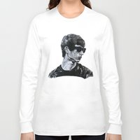 sunglasses Long Sleeve T-shirts featuring Sunglasses by Charlotte Massey