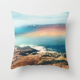 Colours of the sea Throw Pillow