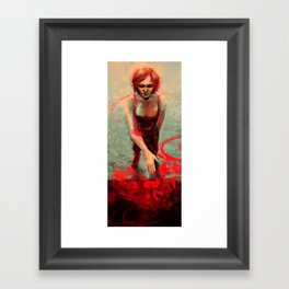 Magic, yo. Framed Art Print