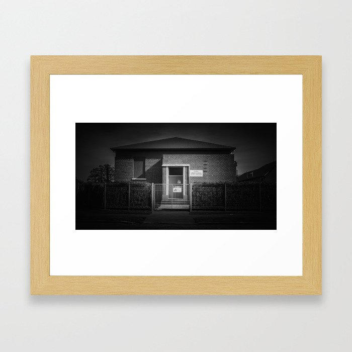 The Christchurch Electricity Substation Project X Framed Art Print