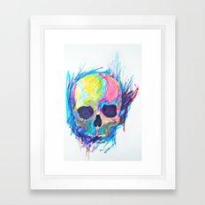 Skullor Framed Art Print