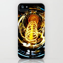 Industrial Filament Light iPhone Case